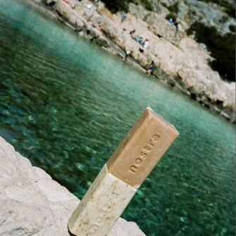 Duo soap 😉🍋  #nostra #nostracosmetics #cosmetiquenaturelle #madeinfrance #mediterraneanlife #marseille #cassis #cantona #naturesauvage #35mm #portra400 #productphotography #suddelafrance #lifestyle #photography #photooftheday #skincare #skincareroutine #senteursdusud